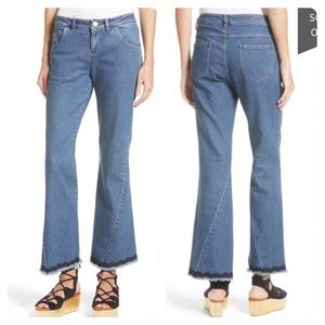 NWT! See by Chloe Scallop Trim Bootcut Jeans